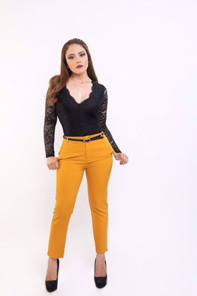 Maxrebo Ropa De Moda Juvenil Dama Pantalon De Vestir